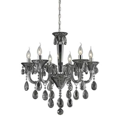 Elk Lighting 80012/6 Formont - Six Light Crystal Chandelier