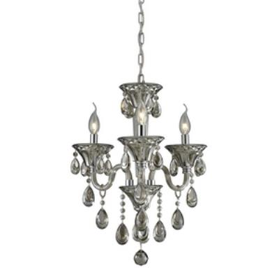 Elk Lighting 80021/3 Formont - Three Light Crystal Chandelier