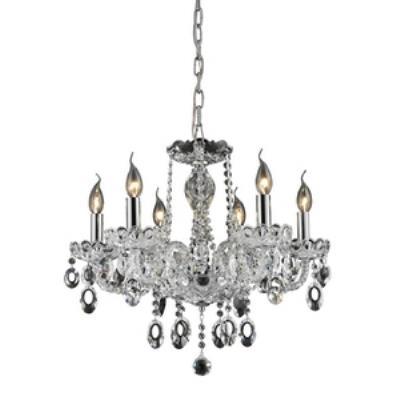 Elk Lighting 80032/6 Balmoral - Six Light Crystal Chandelier