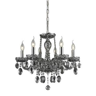 Elk Lighting 80042/6 Balmoral - Six Light Crystal Chandelier