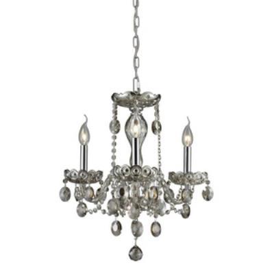 Elk Lighting 80051/3 Balmoral - Three Light Crystal Chandelier