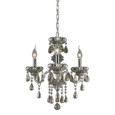 Elk Lighting 80081/3 Cotswold - Three Light Crystal Chandelier