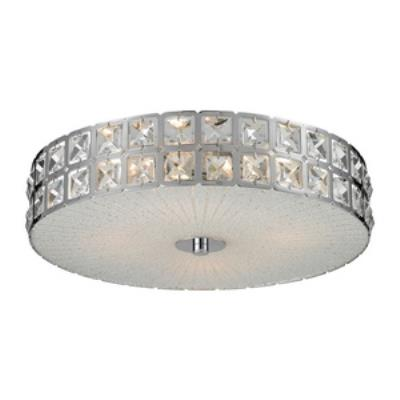 Elk Lighting 81081/4 Wickham - Four Light Flush Mount