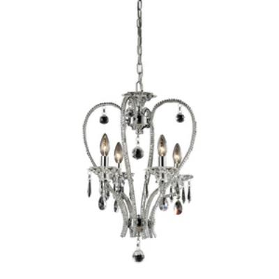 Elk Lighting 82001/4 Drapersfield - Four Light Crystal Pendant