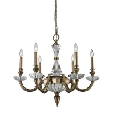Elk Lighting 83040/6 Arundel - Six Lightchandelier