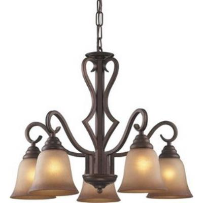 Elk Lighting 9327/5 Lawrenceville - Five Light Chandelier