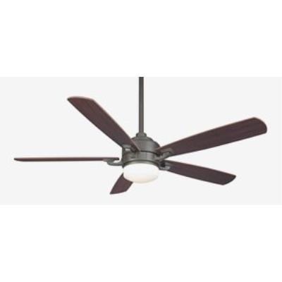 "Fanimation Fans FP8003OB-220 Benito - 52"" Ceiling Fan with Light Kit"
