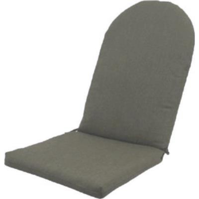 Fiberbuilt Umbrellas RI01RS Square Back Wrought Iron Seat Cushion