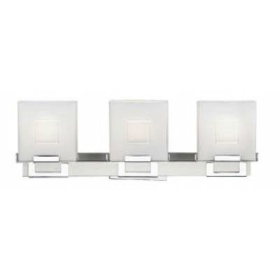 Forecast Lighting F4421-36NV Square - Three Light Bath Bar