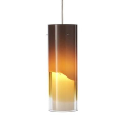 Forecast Lighting FA0005836 Capri LED pendant in Satin Nickel finish