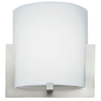 Forecast Lighting FL0001836 Bow LED wall sconce in Satin Nickel finish