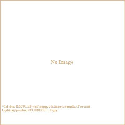 Forecast Lighting FL0003870 Bow LED wall sconce in Merlot Bronze finish