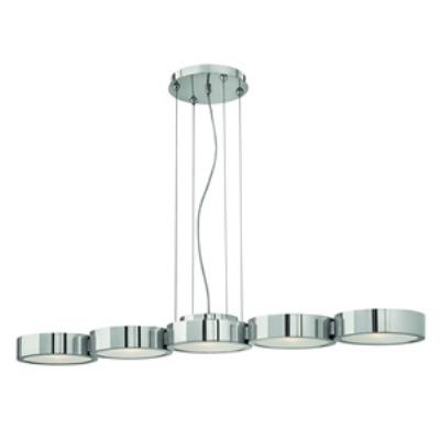 Fredrick Ramond Lighting FR41435PAL Broadway - Five Light Linear Chandelier