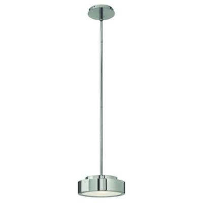 Fredrick Ramond Lighting FR41437PAL Broadway - One Light Horizontal Mini-Pendant