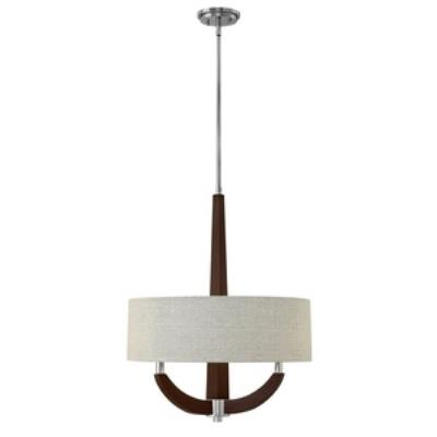 Fredrick Ramond Lighting FR42342PCM Cameron - Three Light Invert Foyer