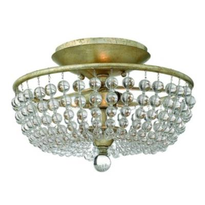 Fredrick Ramond Lighting FR43751SLF Caspia - Two Light Semi Flush Foyer