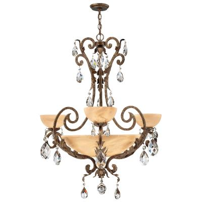 Fredrick Ramond Lighting FR44100SLF Barcelona - Six Light Chandelier