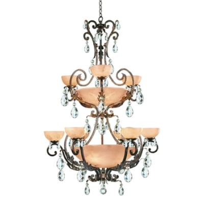 Fredrick Ramond Lighting FR44107FRM Chandelier Barcelona