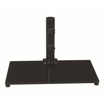 "Galtech International 040SQ Steel Plate - 13"" x 22"" Rectangle Base"