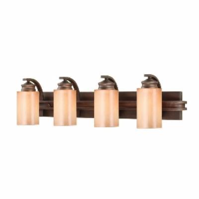 Golden Lighting 1051-BA4 SBZ Hidalgo - Four Light Vanity