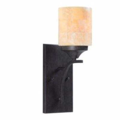 Golden Lighting 1212-1W AB Corsica - One Light Wall Sconce