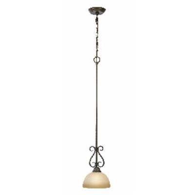 Golden Lighting 1567-M1L PC Riverton - 1 Light Mini-pendant