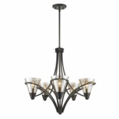 Golden Lighting 1648-5 BUS Olympia - Five Light Chandelier