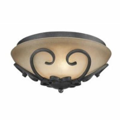 Golden Lighting 1821-FM BI Madera - Three Light Flush Mount