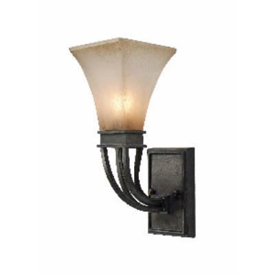 Golden Lighting 1850-1W RT Genesis - One Light Wall Sconce