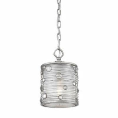 Golden Lighting 1993-M1L PS Joia - One Light Mini-Pendant
