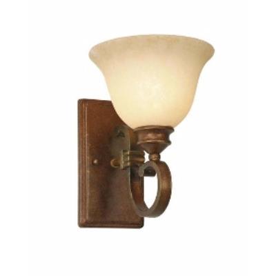 Golden Lighting 3711-1W CB 1 Light Wall Sconce