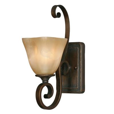 Golden Lighting 3890-1W GB 1 Light Wall Sconce