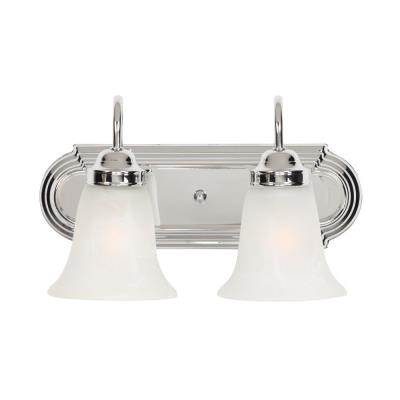 Golden Lighting 5221-2 CH 2 Light Vanity