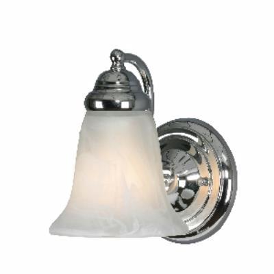 Golden Lighting 5222-1 CH 1 Light Wall Sconce