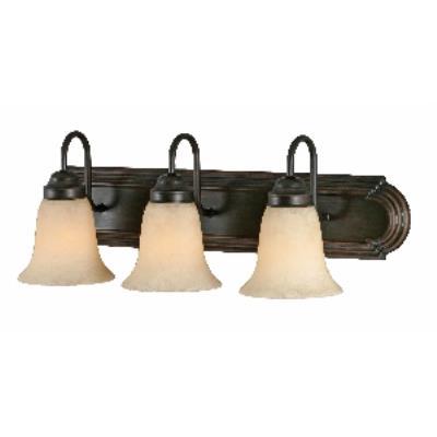 Golden Lighting 5333 RBZ 3 Light Vanity