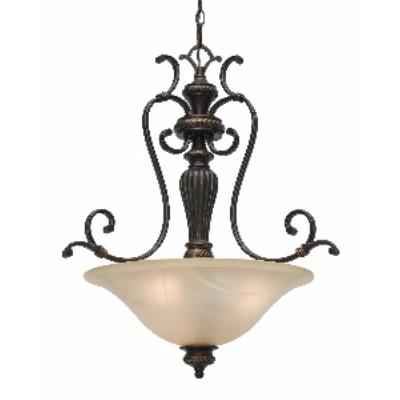 Golden Lighting 6029-3P EB Pendant Bowl