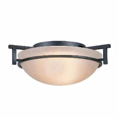 Golden Lighting 6262-FM DNI Hampden - One Light Flush Mount