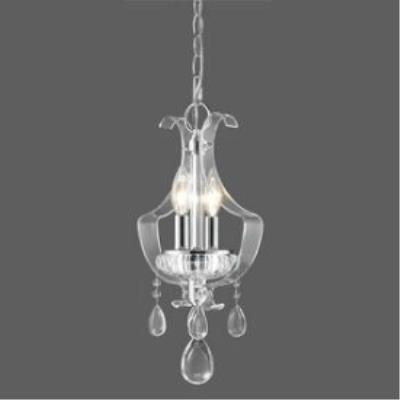 Golden Lighting 6530-M1L CH Clarion - Two Light Mini-Pendant