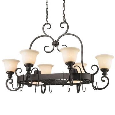 Golden Lighting 8063-PR62 BUS Pot Rack