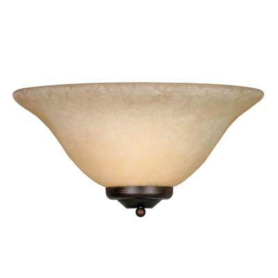 Golden Lighting 8355 RBZ 1 Light Wall Sconce