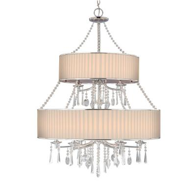 Golden Lighting 8981-9 BRI Echelon - Nine Light Chandelier