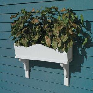 "Lazy Hill - 60"" Weaver Window Box Planter (Cedar 3 Bracket)"
