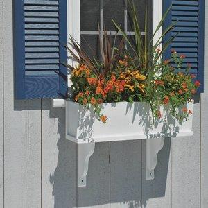 "Lazy Hill - 48"" Montauk Window Box Planter"