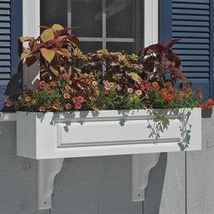 "Lazy Hill - 42"" Hampton Window Box Planter"