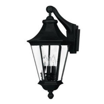 Hinkley Lighting 2504BK Senator Brass Outdoor Lantern Fixture