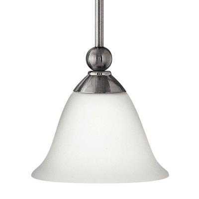 """Hinkley Lighting 4667BN Bolla - 7.75"""" 15W 1 LED Mini Pendant"""