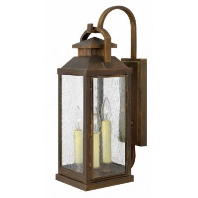 Hinkley Lighting 1185SN Revere - Three Light Outdoor Large Wall Sconce