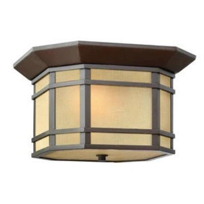 "Hinkley Lighting 1273OZ Cherry Creek - 12"" 32W 1 LED Outdoor Flush Mount"