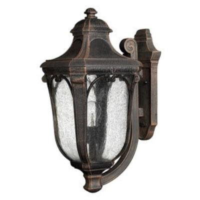 Hinkley Lighting 1314MO-GU24 Trafalgar - One Light Medium Outdoor Wall Mount