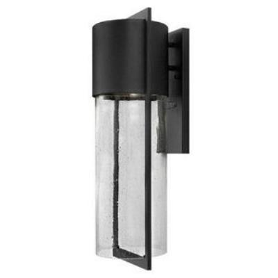 Hinkley Lighting 1325BK-LED Dwell - One Light Outdoor Large Wall Mount